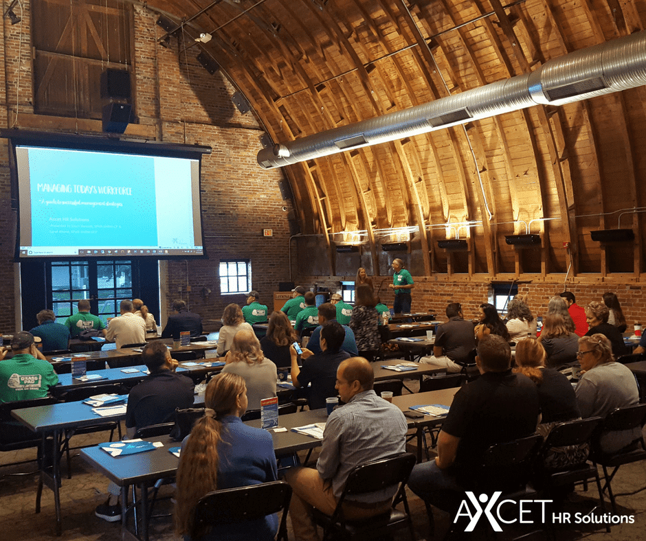 Axcet HR managing conference