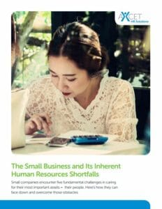 The Small Business and Its Inherent Human Resources Shortfalls girl looking at phone