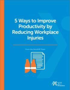 5 ways to improve productivity by reducing workplace injuries