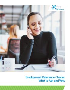 Employment Reference Checks - What to ask and why
