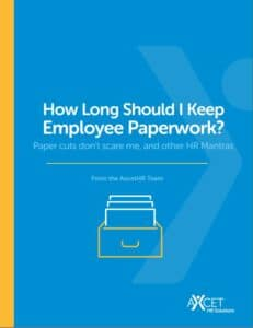 How Long Should I save Employee Paperwork