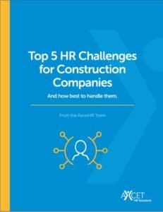 Top 5 HR Challenges for Construction Industry